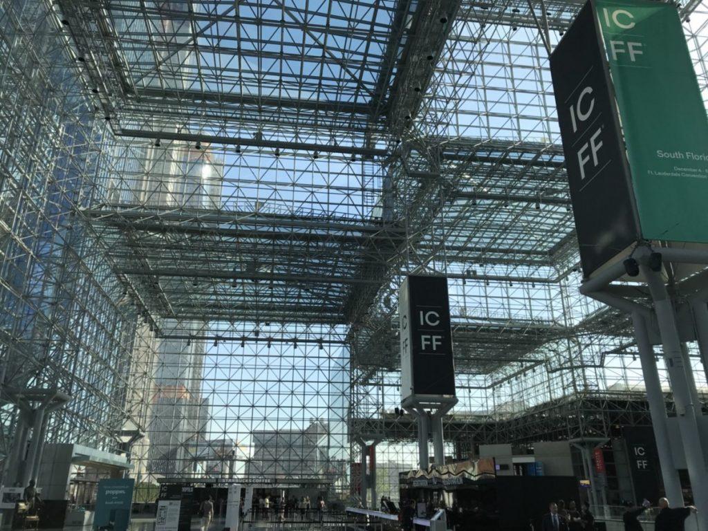 ニューヨーク国際現代家具見本市(ICFF)に出展しました。