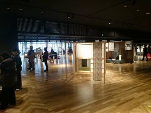 大島紬フェスティバルで組み立て式和室を使用していただきました。